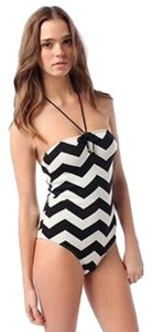 Anthropologie Anthropologie Undrest by the Sea Chevron One-Piece Swimsuit