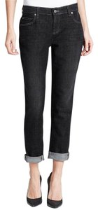 Eileen Fisher Boyfriend Cut Jeans-Dark Rinse