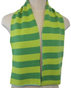 White + Warren White & Warren Oblong Cashmere Scarf One Size Multi Colors of Green and Blue