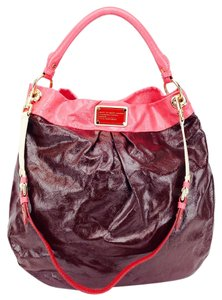 Marc by Marc Jacobs Patent Leather Oversize Hobo Bag