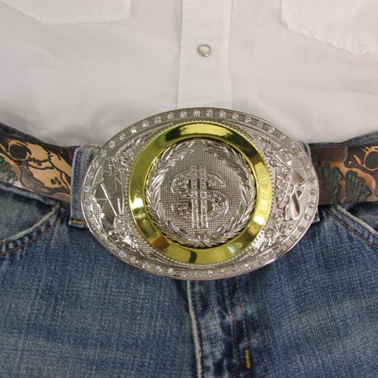 Alwaystyle4you New Men Western Cowboy Buckle American Dollar Sign Money $ Image 2