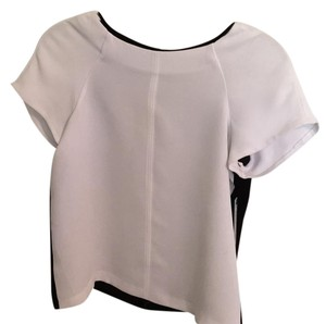 Alice + Olivia Top White Black