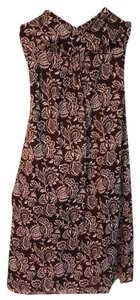 Brown Floral Maxi Dress by Ann Taylor