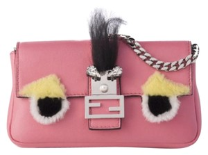 Fendi Monster Bug Fur Baguette