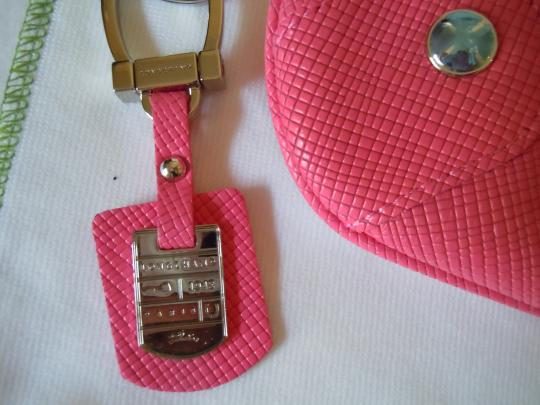 Longchamp Quadri Saffiano Shoulder Key Cross Body Bag Image 3