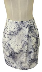 Lucy Paris Skirt Marble (White)