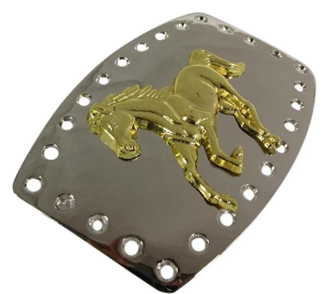Alwaystyle4you Silver New Men Women Buckle Polished Western Style Gold Horse Belt Alwaystyle4you Silver New Men Women Buckle Polished Western Style Gold Horse Belt Image 1