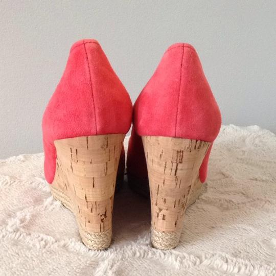 Prada Coral Wedges