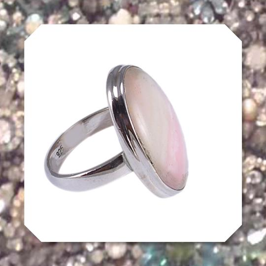 Other New Candy Opal and 925 Sterling Silver Gemstone Ring SZ 7 Image 1