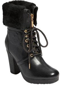 Hunter Chnadler Fur Black Boots