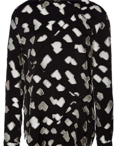 Proenza Schouler Top Black and White