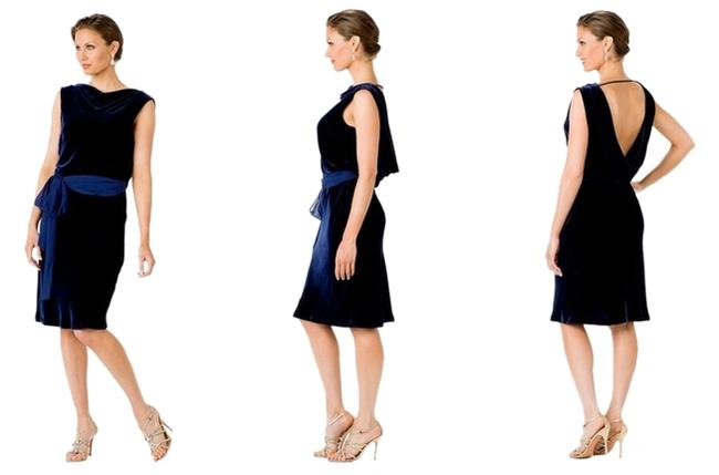 Preload https://item4.tradesy.com/images/bcbgmaxazria-blue-party-knee-length-cocktail-dress-size-4-s-1720748-0-0.jpg?width=400&height=650