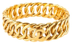 Chanel Gold Gilded CC Link Cuff
