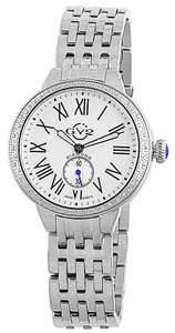 GV2 By Gevril GV2 by Gevril Women's 9100 ASTOR Diamond silver tone watch