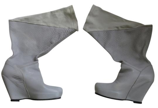 Rick Owens Lt. Grey Wedges