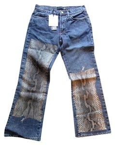 Just Cavalli Boyfriend Cut Jeans-Medium Wash