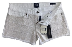 Lucky Brand Cut Off Shorts White
