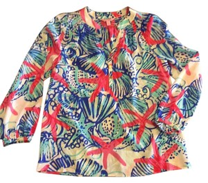 Lilly Pulitzer Top She She Shells