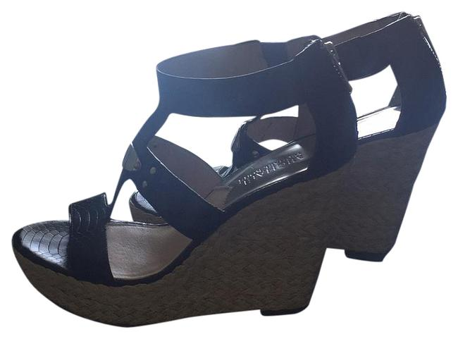 MICHAEL Michael Kors Black Wedges Size US 7 Regular (M, B) MICHAEL Michael Kors Black Wedges Size US 7 Regular (M, B) Image 1