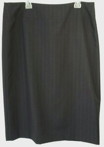 Banana Republic Office Skirt Pinstripe