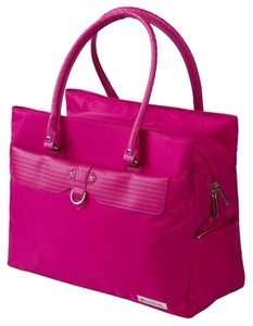 TravelSmith Nylon Travel Tote in Pink