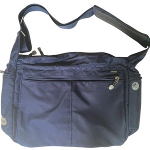 Ebags Kayla Town Square Nylon Travel NAVY BLUE Messenger Bag