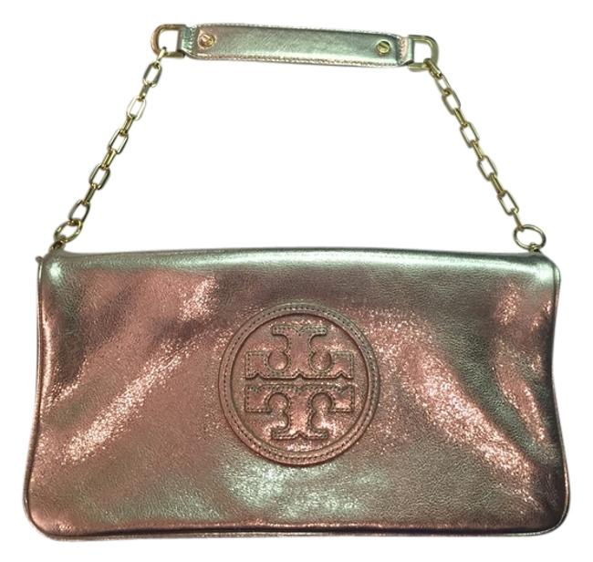Item - Reva Reva Reva Metallic Reva Metallic Metallic Gold Leather Clutch