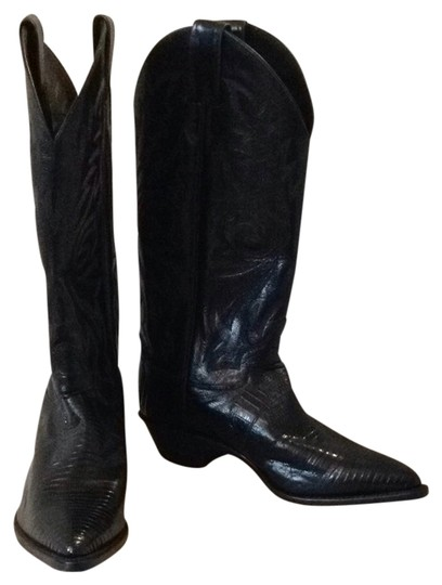 Preload https://item5.tradesy.com/images/justin-boots-black-boots-1721039-0-0.jpg?width=440&height=440