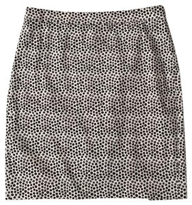 J.Crew Skirt Cream, black