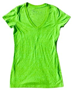 PacSun Neon Cheeta T Shirt Lime green