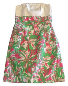 Lilly Pulitzer short dress Hotty Pink Forgot My Trunks on Tradesy