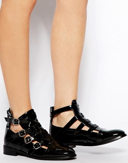 ASOS Black Boots Image 1
