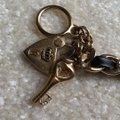 Juicy Couture Juicy Couture Toggle Bracelet: Black And Gold: Heart And key Style Image 6
