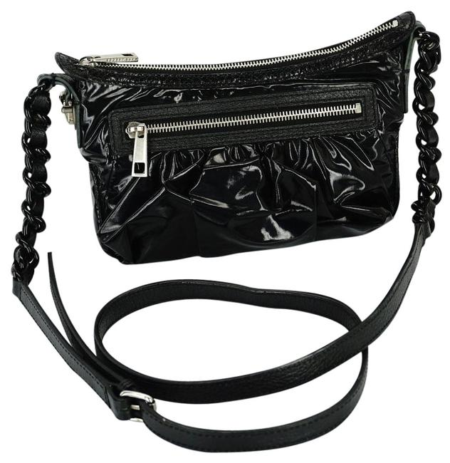 Marc by Marc Jacobs Shoulder Cammie Parachute Mini Black Shiny Fabric Cross Body Bag Marc by Marc Jacobs Shoulder Cammie Parachute Mini Black Shiny Fabric Cross Body Bag Image 1
