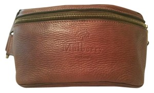 Mulberry Leather Exercise Casual Metallic Hardware Cross Body Bag