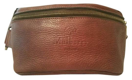 Mulberry Leather Exercise Casual Metallic Hardware Cross Body Bag Image 1