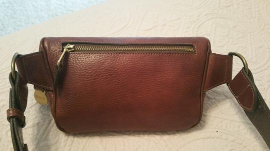 Mulberry Leather Exercise Casual Metallic Hardware Cross Body Bag Image 3