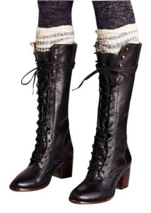 FreeBird Grany Leather Black Boots