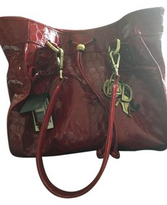 Donald J. Pliner Tote in Burgundy
