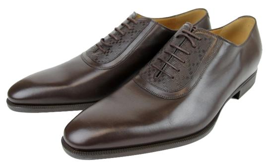 Gucci Mens Leather Hilary Lux Diamante Oxford 309027 2157 10 / Us 11 10.5/ Us 11.5 11.5 / Us 12.5 12 / Us 13 New Brown Boots