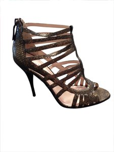 Size 38, 40 Plenty Snakeskin Pumps