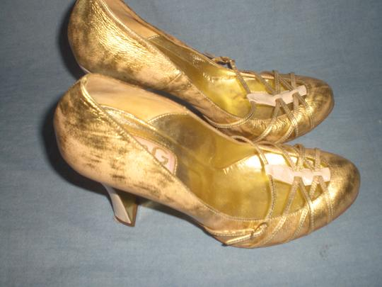 Dolce&Gabbana Couture GOLD Pumps Image 3