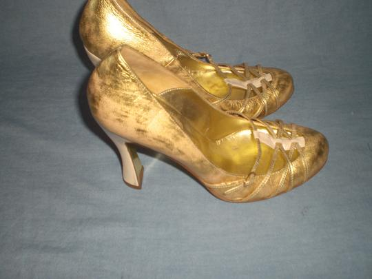 Dolce&Gabbana Couture GOLD Pumps Image 5