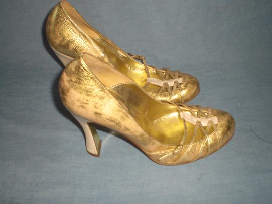Dolce&Gabbana Couture GOLD Pumps Image 7