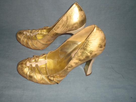 Dolce&Gabbana Couture GOLD Pumps Image 8