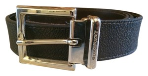 Burberry Burberry Adjustable and Reversible Leather Belt
