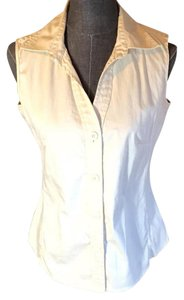 Banana Republic Button Down Shirt Off white