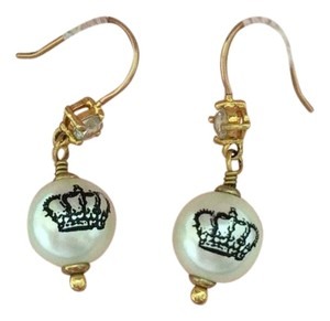 Juicy Couture Juicy Couture Pearl Earrings