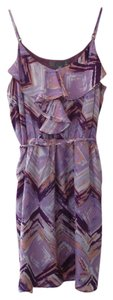 Forever 21 short dress Purple Silk Print on Tradesy