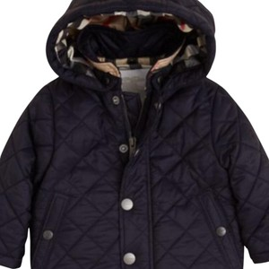 Burberry Childrens Infant Kids Boys Navy Jacket